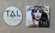 "CD AUDIO DISQUE / TAL À L'INFINI"" CD ALBUM DIGIPACK 19T 2014 WARNER 2564632525"
