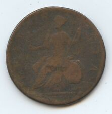 Great Britain 1752 Half Cent (#767) Vg. Clear Date. Carefully Check out the Phot