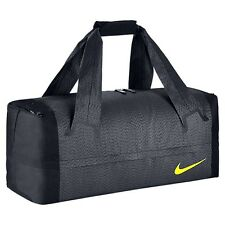NIKE ENGINEERED TRAINING ULTIMATUM LG Compartment Duffel Gym Bag Grey Black Volt