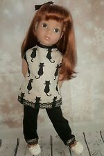 HANDMADE by Rachel doll clothing fits Gotz  design a friend set including shoes