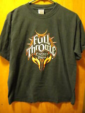 Full Throttle Energy Drink T Shirt Medium Black Coca Cola Product Not NHRA