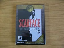 Scarface: The World is Yours (PC DVD) BRAND NEW SEALED