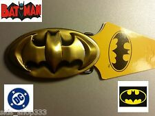Sweet! Batman  Logo belt buckle (full metal Bronze color) DC,collectible cosplay