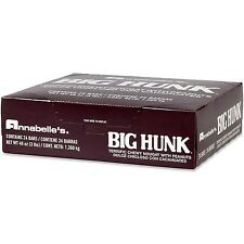 One Box = 24 Nostalgic large Annabelle's Big Hunk Candy bars / Big Hunk Taffy