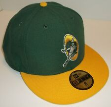 Green Bay Packers Ball Cap~New Era 59Fifty~Fitted Size 8~Throwback~FREE Shipping