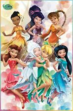DISNEY FAIRIES POSTER ~ 7 COLORS 22x34 Tinkerbell Periwinkle Tinker Bell