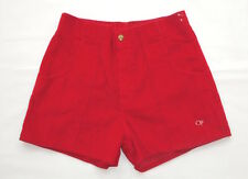 VINTAGE SHORTS 70's Ocean Pacific CORDUROY Cords SURF Skate Board OP Red 34 EUC