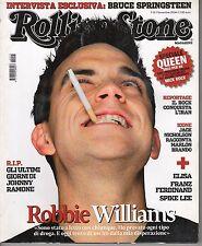 Rivista ROLLING STONE ANNO 2004  NUMERO 13 - ROBBIE WILLIAMS - BRUCE SPRINGSTEEN
