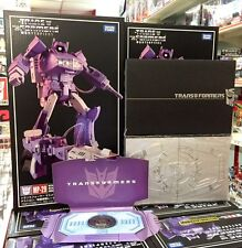 Takara Tomy Transformers Masterpiece MP-29 Laserwave Shockwave + coin + coin box