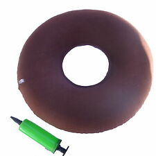 New Inflatable Vinyl Ring Round Seat Cushion Medical Hemorrhoid Pillow Donut JL