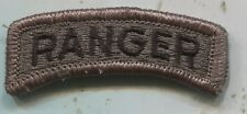 US Army RANGER ACU Patch Tab