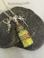 �� Enchanting Fairy Dust Necklace Pendant Gift Stocking Filler Halloween Costume
