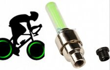 Green LED Flashing Tire Wheel Valve Cap for Car Motorcycle Bicycle Wheel Green
