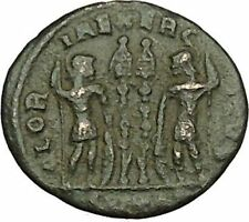 CONSTANTINE II Constantine the Great  son  Roman Coin Glory of Army  i40401