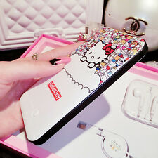 Hello kitty Mobile Thin Power Bank 8800mah Battery Charger Girls Gift + EarPhone