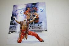 WWE WWF SHAWN MICHAELS HBK SIGNED AUTOGRAPHED 8X10 PHOTO ENTRANCE POSE