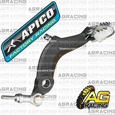 Apico Black Rear Foot Brake Pedal Lever For Ossa TR 250 2011 11 Trials New