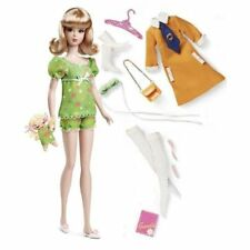 Barbie 2011 NRFB Nighty Brights Francie Silkstone Mod Repro Giftset Gold Label