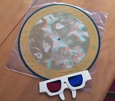 """THE BEATLES """"THE BRITISH ARE COMING"""" 3D PICTURE DISC LIMITED EDITION W/GLASSES"""