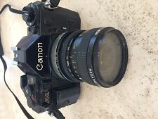 Canon A-1 35mm SLR Film Camera with lens kit