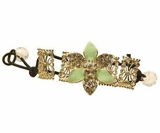 ConMiGo London CL333 - use as Glittering sequined green hair ties & bracelet
