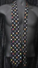 JOE BOXER SCREWBALLS TIE VARIETY BALLS OF COLOR/BLACK 100%IMPORTED SILK U.S.A.