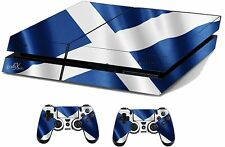 Scotland Sticker/Skin PS4 Playstation 4 Console/Remote controller,ps4sk23