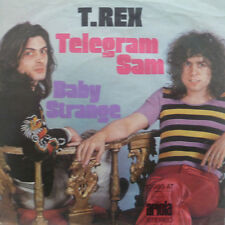 "7"" 1972 REAL GLAM KULT IN MINT- ! T.REX : Telegram Sam"
