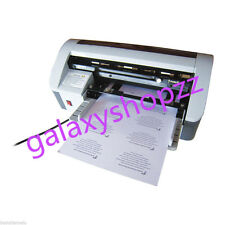 Desktop Semi-Automatic Business Name Card Cutter