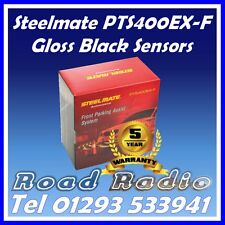 Steelmate PTS400ex-F Gloss Black 4 Front Eye Parking Sensors