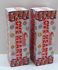 2 Boxes of Swizzles Love Hearts Retro Wedding Favour Party Valentine's Sweets