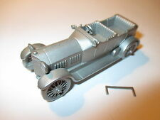 Isotta Fraschini 1912 open tourer, Zinn Pewter, Danbury Mint ca. in 1:60!