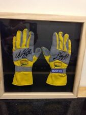 Jordan Ralph Schumacher Signed Racing Gloves With Coa