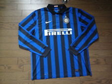 Inter Milan 100% Original Jersey Shirt XL Still BNWT NEW 2011/12 Home LS Rare