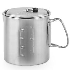 Solo Pot 900 Stainless Backpacking Camp Pot: Cookware for Solo Stove