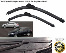 Toyota Avensis 2009-Onwards FRONT WINDSCREEN WIPER BLADES