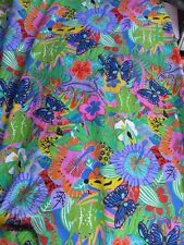 10 m x 150cm  Poly COTTON  KNIT   Aust Print Fabric, Shirts Dress.Pants