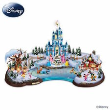 Disney Christmas Cove Illuminated Village Bradford Exchange Sculpture