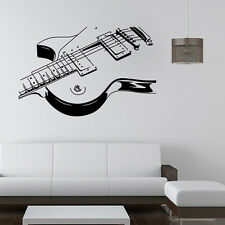 Guitar Music Mural Removable Wall Stickers Art Vinyl Decal Home Room Decor