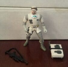 1996 Star Wars Power of the Force HOTH REBEL SOLDIER w/ Bio Card Loose C9+