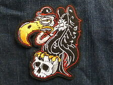 ECUSSON PATCH THERMOCOLLANT VAUTOUR biker rockabilly trike country western rock