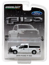 Greenlight   2015 Ford F-150  w/ Plow & light bar.  white