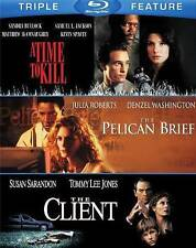 The Client / Pelican Brief / A Time to Kill (Blu-ray Disc, 2014, 3-Disc Set)