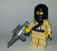Custom Desert Soldier Minifigure - Made with Lego Parts - Army Builder