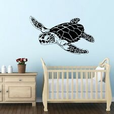 Turtle Animal Wall Decal Ocean Museum Wall Decor Kid Room Wall Decoration Decals