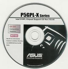 ASUS P5GPL-X Motherboard Drivers Installation Disk M744