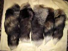 The tail of a silver fox fur skins  taxidermy accessory  Retail $ 39