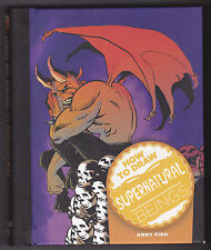 How To Draw Supernatural Beings Hardcover Andy Fish Art Guide