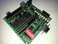 MDE-8051 microcontroller trainer board Maxim 8051 8052 experiment Intel DS89C450