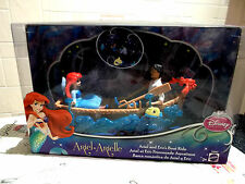 Disney Little Mermaid Figure Playset - Ariel and Prince Eric's Boat Ride New